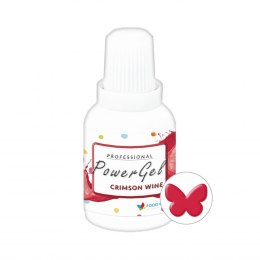 Crimson Wine Power Gel KARMINOWY barwnik w żelu 20g - Food Colours