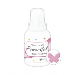 Ballet Slipper Power Gel JASNY RÓŻ barwnik w żelu 20g - Food Colours