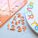 Stemple alfabet i cyfry - MAGIC - Sweet Stamp