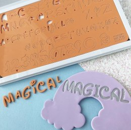 Stemple alfabet i cyfry - MAGICAL - Sweet Stamp