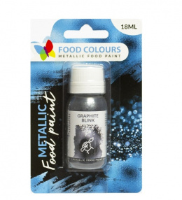 GRAPHITE BLINK - metaliczna farbka 18ml - Food Colours