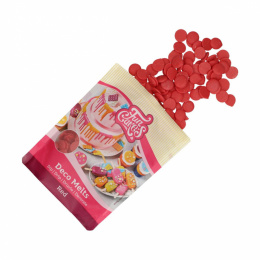 Polewa Deco Melts czerwona 250g - Fun Cakes